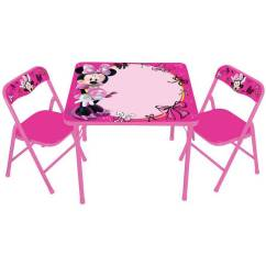 Minnie Table And Chairs Desk Chair Wayfair Disney Mouse Erasable Activity Set With Markers Brickseek