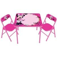 Disney Minnie Mouse Erasable Activity Table Kids Set, 2 ...