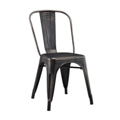 Cafe Chairs Metal Rocking Chair Set Pemberly Row In Antique Black Walmart Com