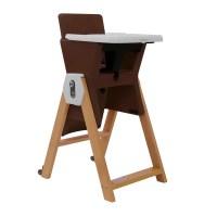 Joovy HiLo High Chair - Dark Brown - Walmart.com
