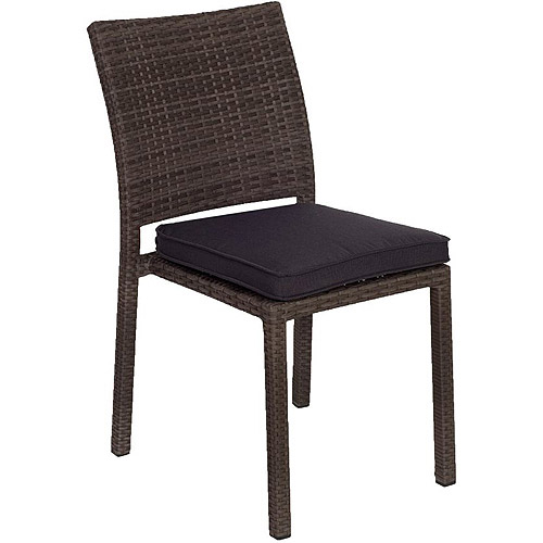 all weather wicker outdoor chairs special for disabled atlantic liberty side set of 4 gray walmart com