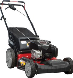 snapper 21 self propelled gas mower with side discharge mulching rear bag and rear high wheel walmart com [ 2000 x 2000 Pixel ]