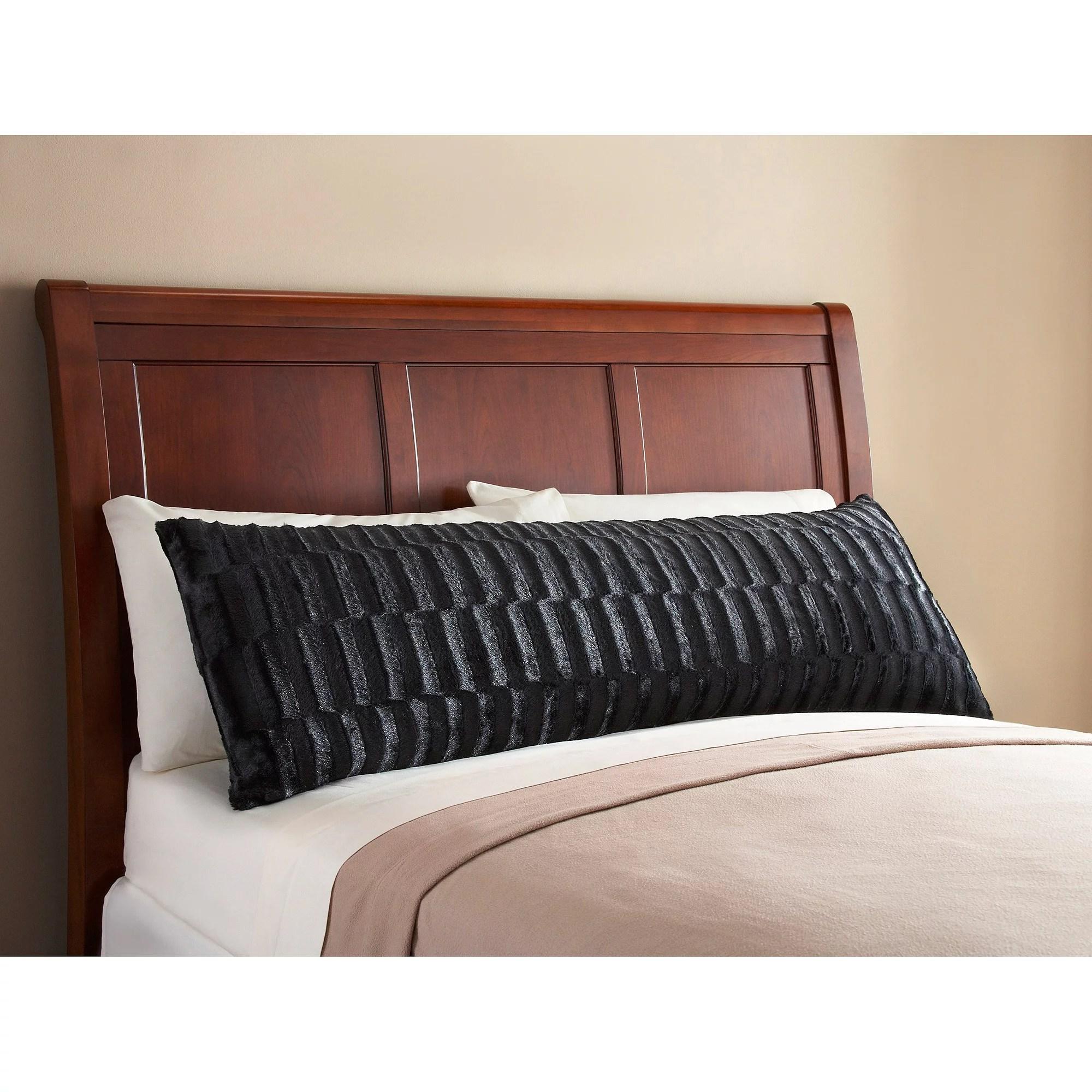 Mainstays Fur Body Pillow Cover Walmartcom