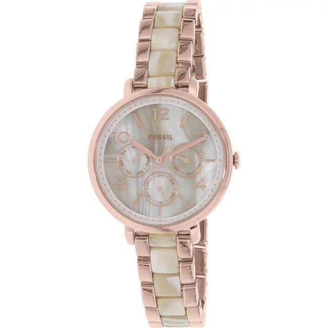 Fossil Women's Jacqueline ES3921 Rose Gold Stainless-Steel Quartz Fashion Watch