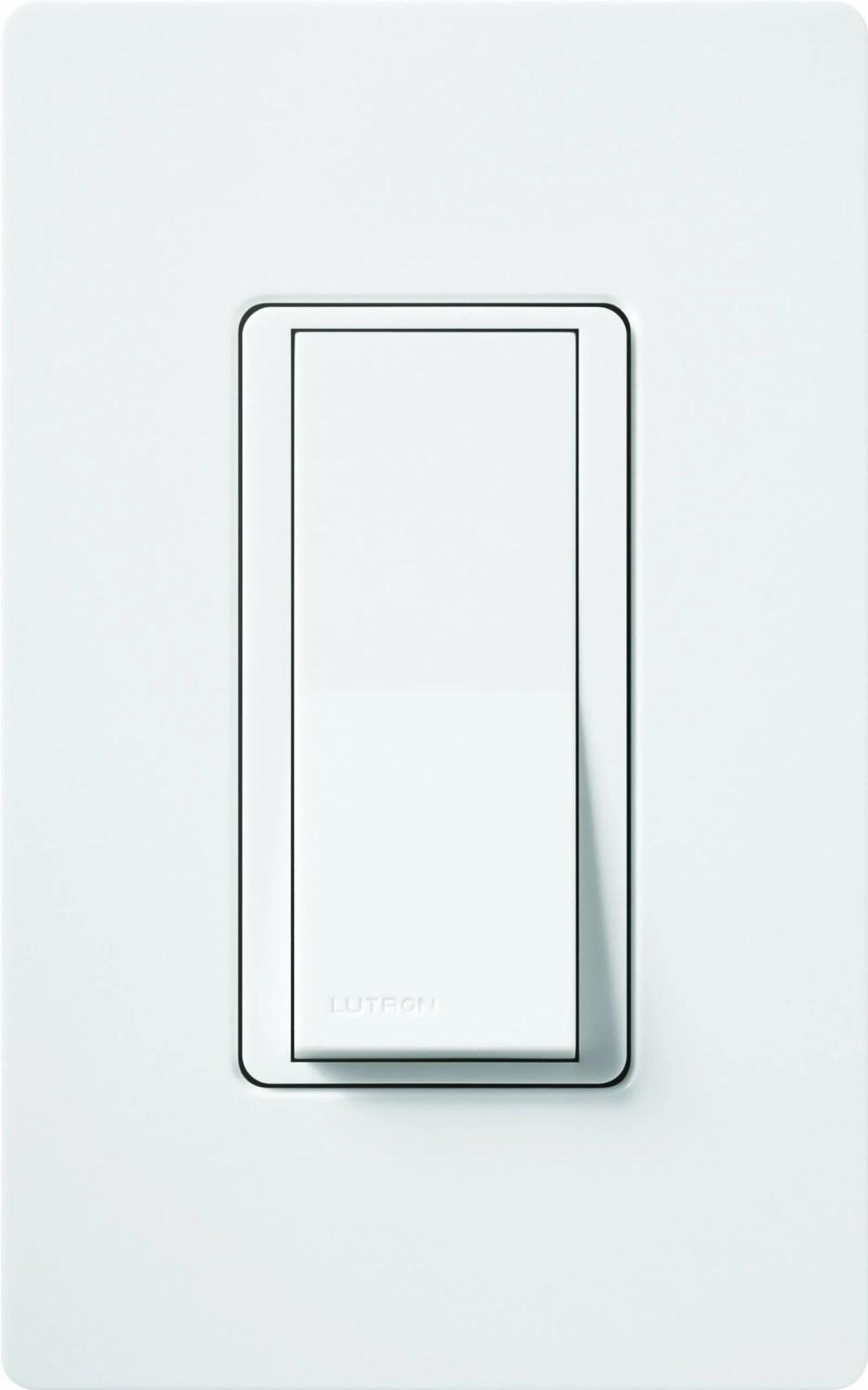 medium resolution of lutron 01627 120 volt 600 watt single pole 3 way switch with locator light walmart com