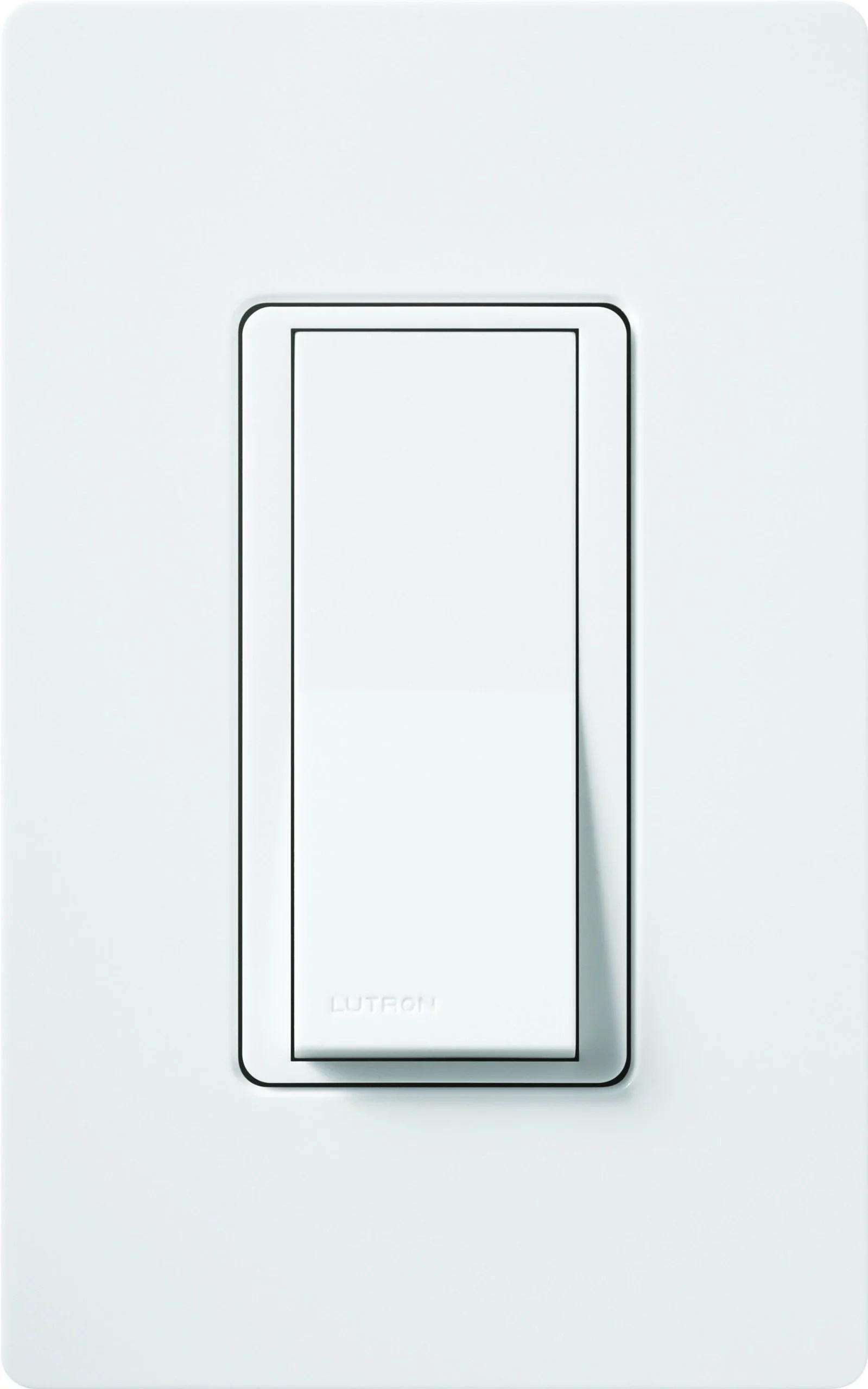 hight resolution of lutron 01627 120 volt 600 watt single pole 3 way switch with locator light walmart com