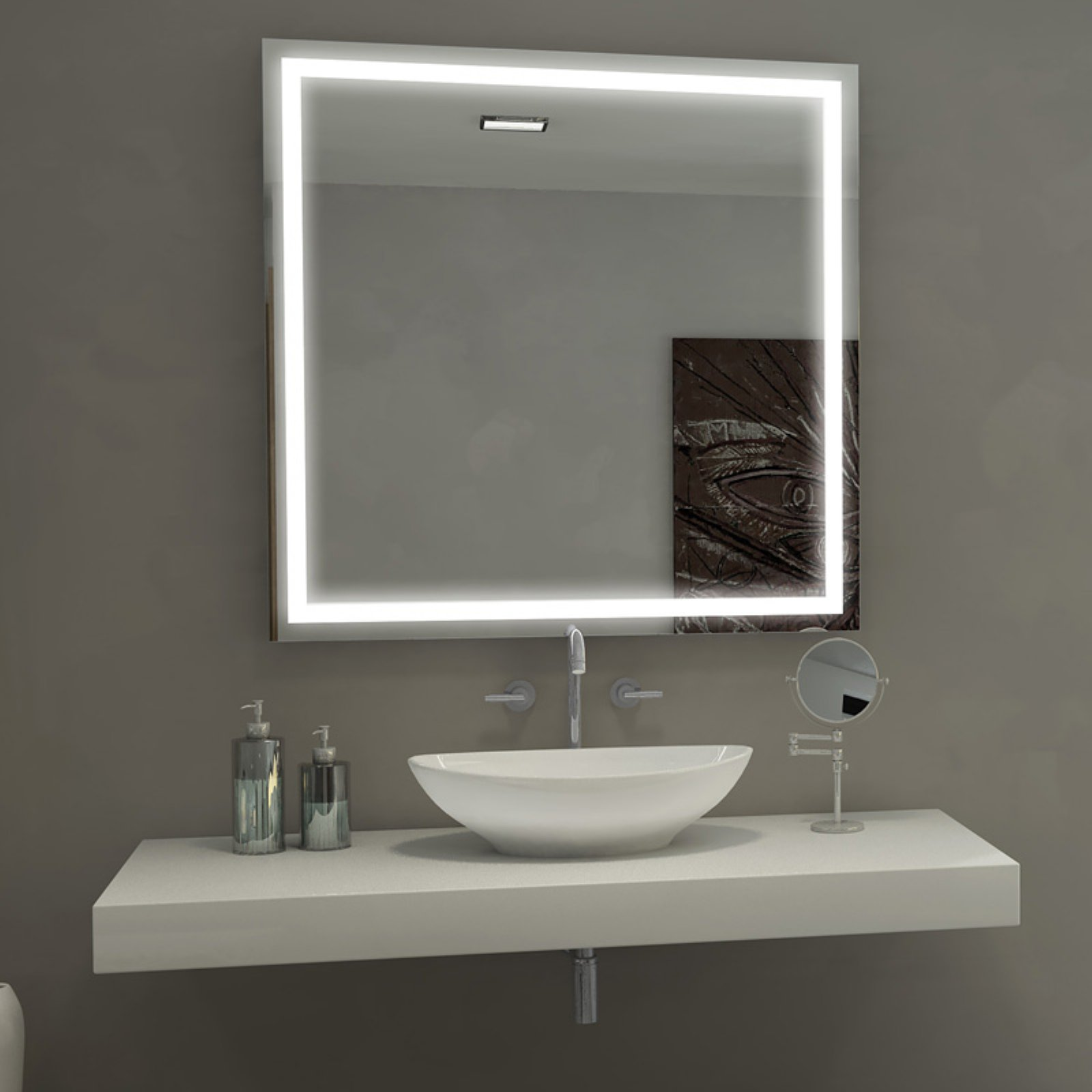 Illuminated Bathroom Mirror Paris Mirror Harmony Illuminated Bathroom Mirror