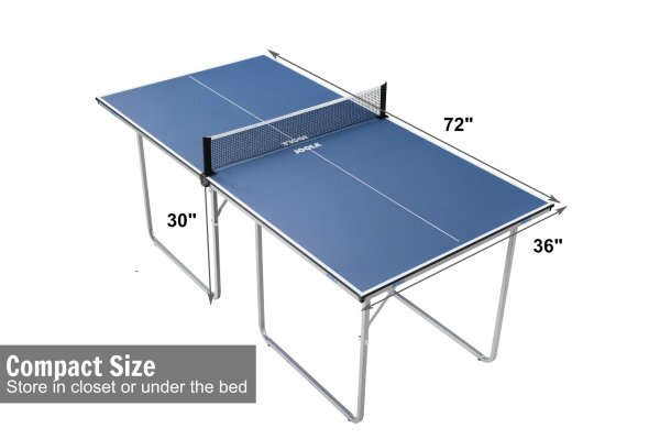 Ping Pong Table Dimensions Clearance