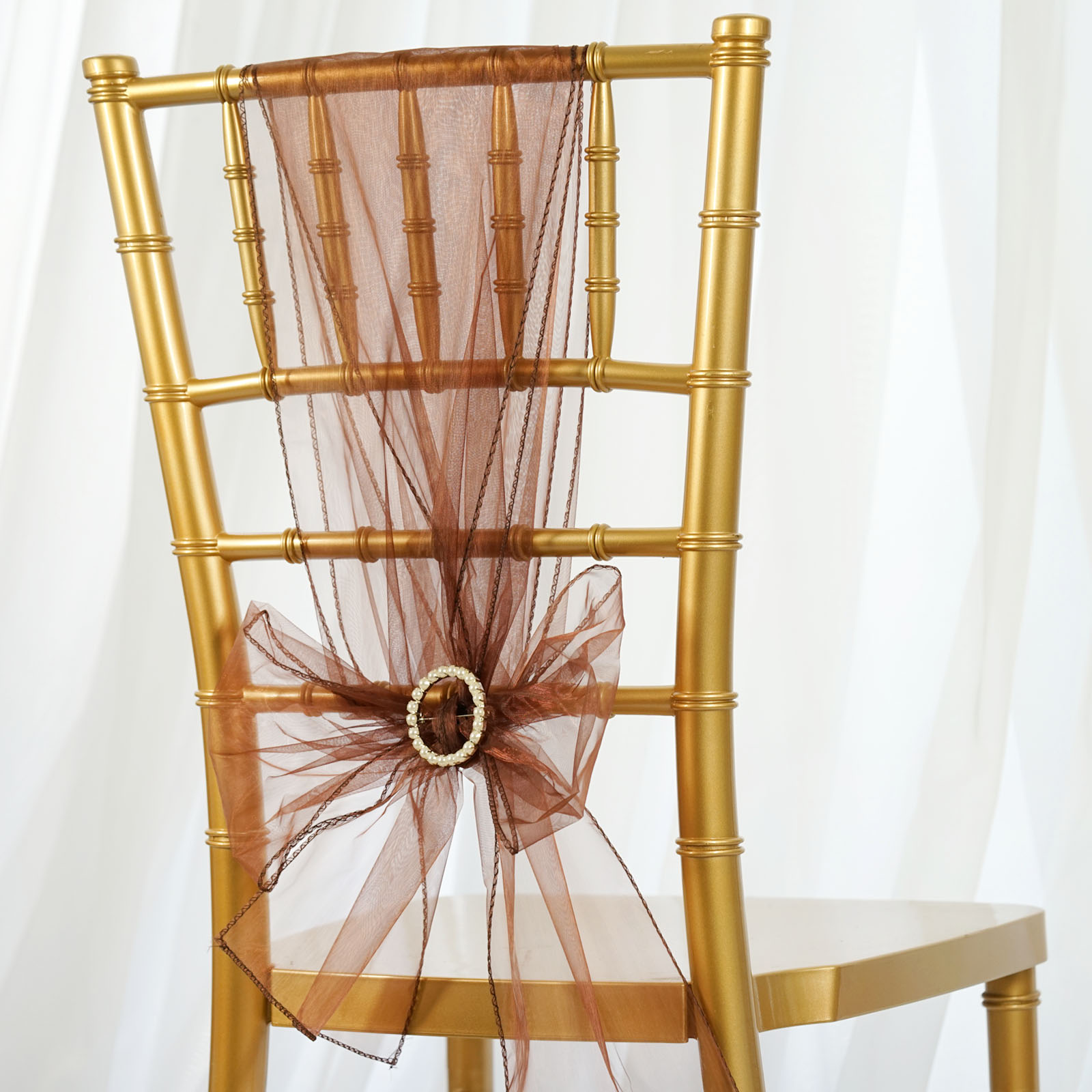 unusual chair sashes ciao high balsacircle 5 organza bows ties wedding