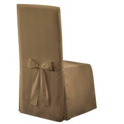 Taupe Chair Covers Inflatable Lounge Metro 19 X 18 39 Decorative Dining Room Cover Walmart Com