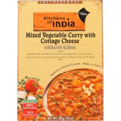 Kitchen Of India Handmade Table Kitchens Walmart Com Product Image Dinner Mixed Vegetable Curry With Cottage Cheese Navratan Korma 10