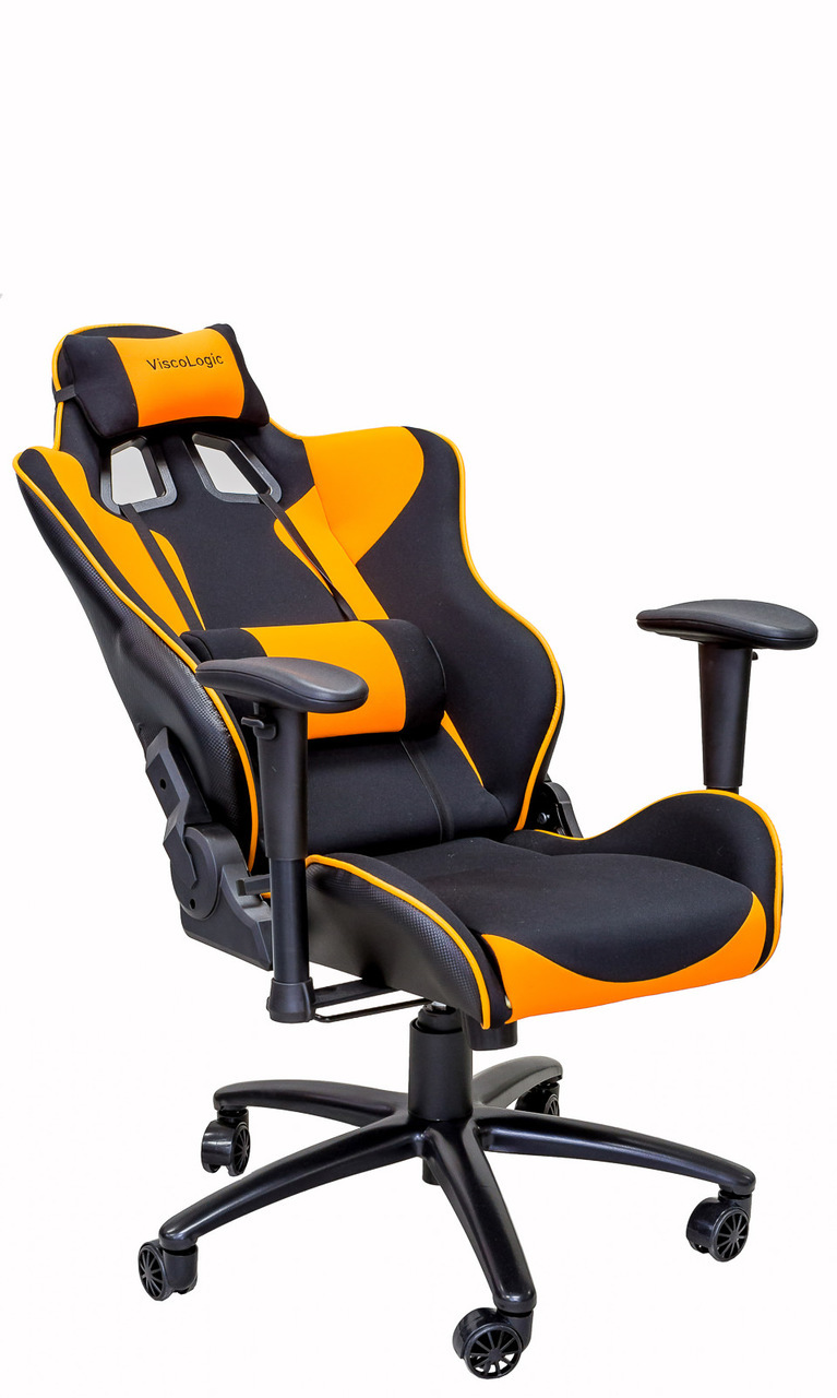 Orange Office Chairs Viscologic Gtr Gaming Racing Style Swivel Office Chair Black Orange