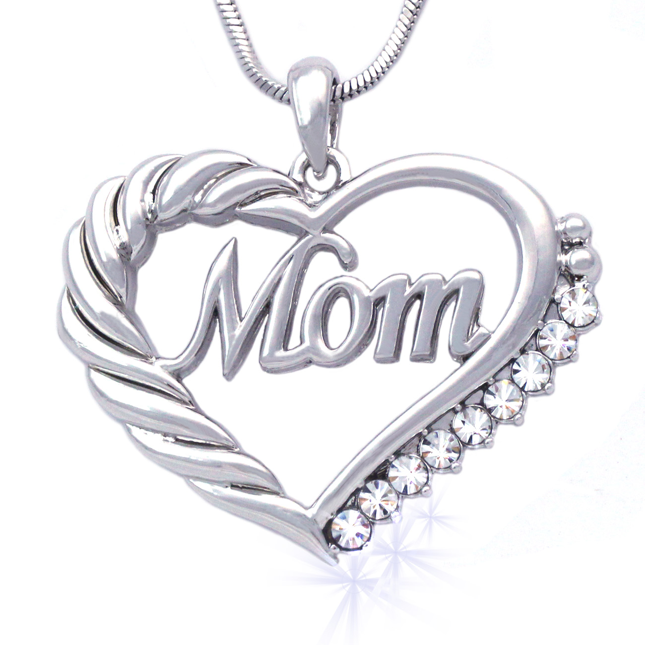 Coco Jewelry Cocojewelry Mother S Day Mom Word Engraved