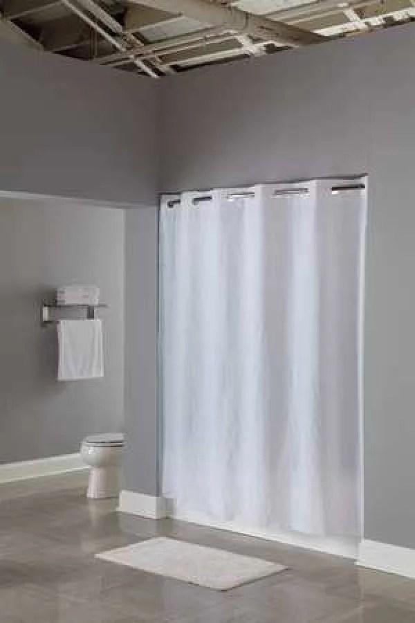 hookless shower curtains walmart com