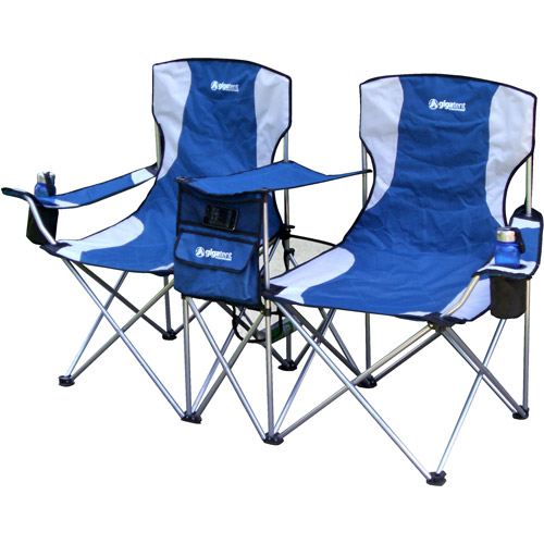 coleman folding chair with side table disney cars and set canada sbs double - walmart.com