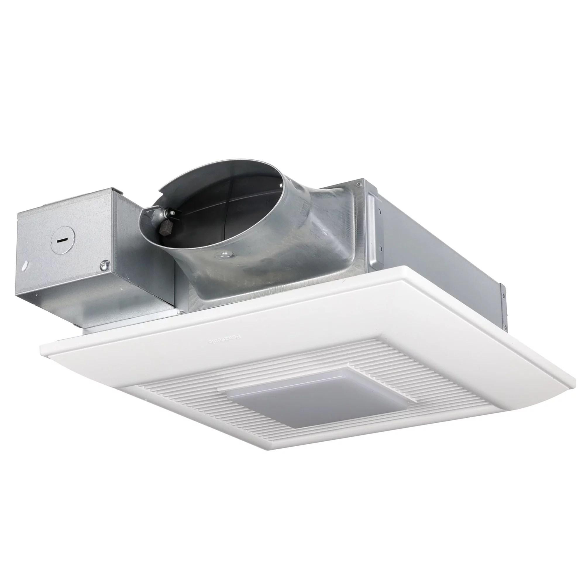 panasonic fv 0510vsl1 whispervalue dc ventilation fan light speed selector low profile quiet walmart com