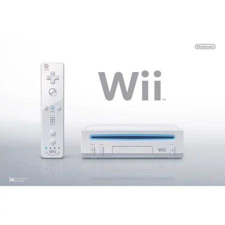 Refurbished Nintendo Wii Console White System Walmart