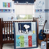 Bedtime Originals by Lambs & Ivy - Hip Hop Snoopy 3-Piece ...