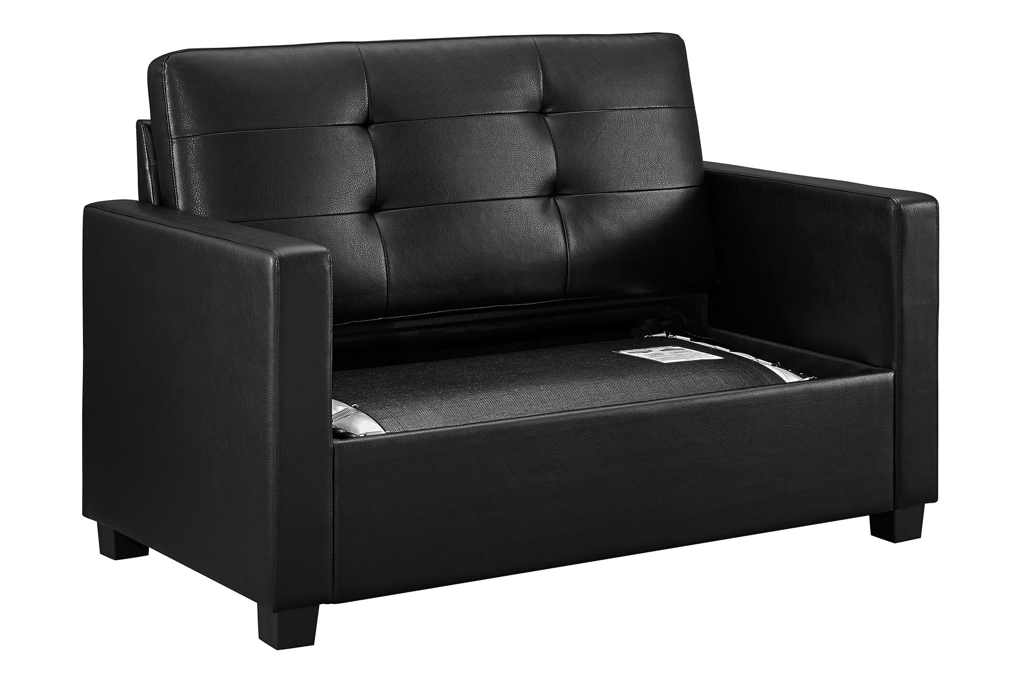 mainstays sofa sleeper with memory foam wall bed nyc loveseat mattress multiple colors walmart com