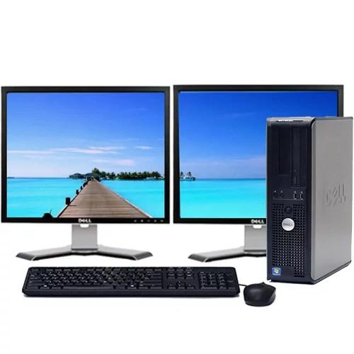 Dell Optiplex Desktop Computer Bundle Windows 10 Intel 2