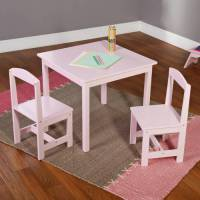 Hayden Kids 3-Piece Table and Chair Set, Multiple Colors ...