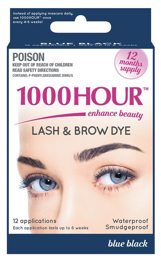 1000 Hour Eyelash Amp Brow Dye Tint Kit Permanent Mascara