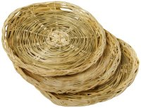 """Fox Run 9"""" Paper Plate Holders Support Set Of 4 Woven ..."""