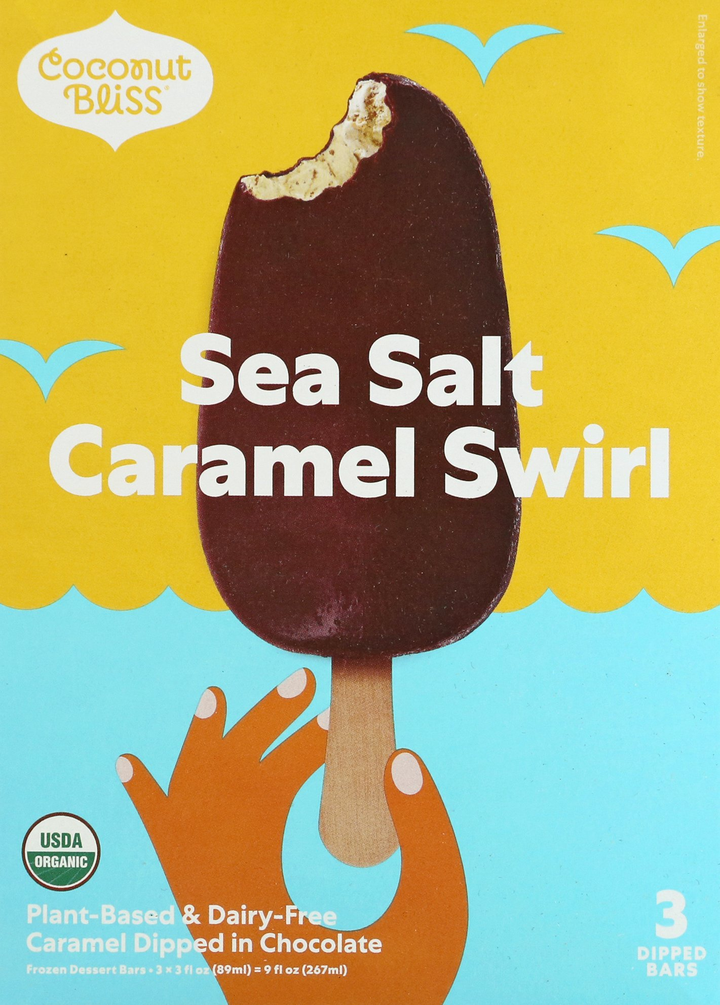 coconut bliss frozen dessert sea salt