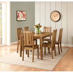 Light Wood Dining Chairs Wooden Baby High Better Homes And Gardens Bankston Chair Set Of 2 Honey Walmart Com