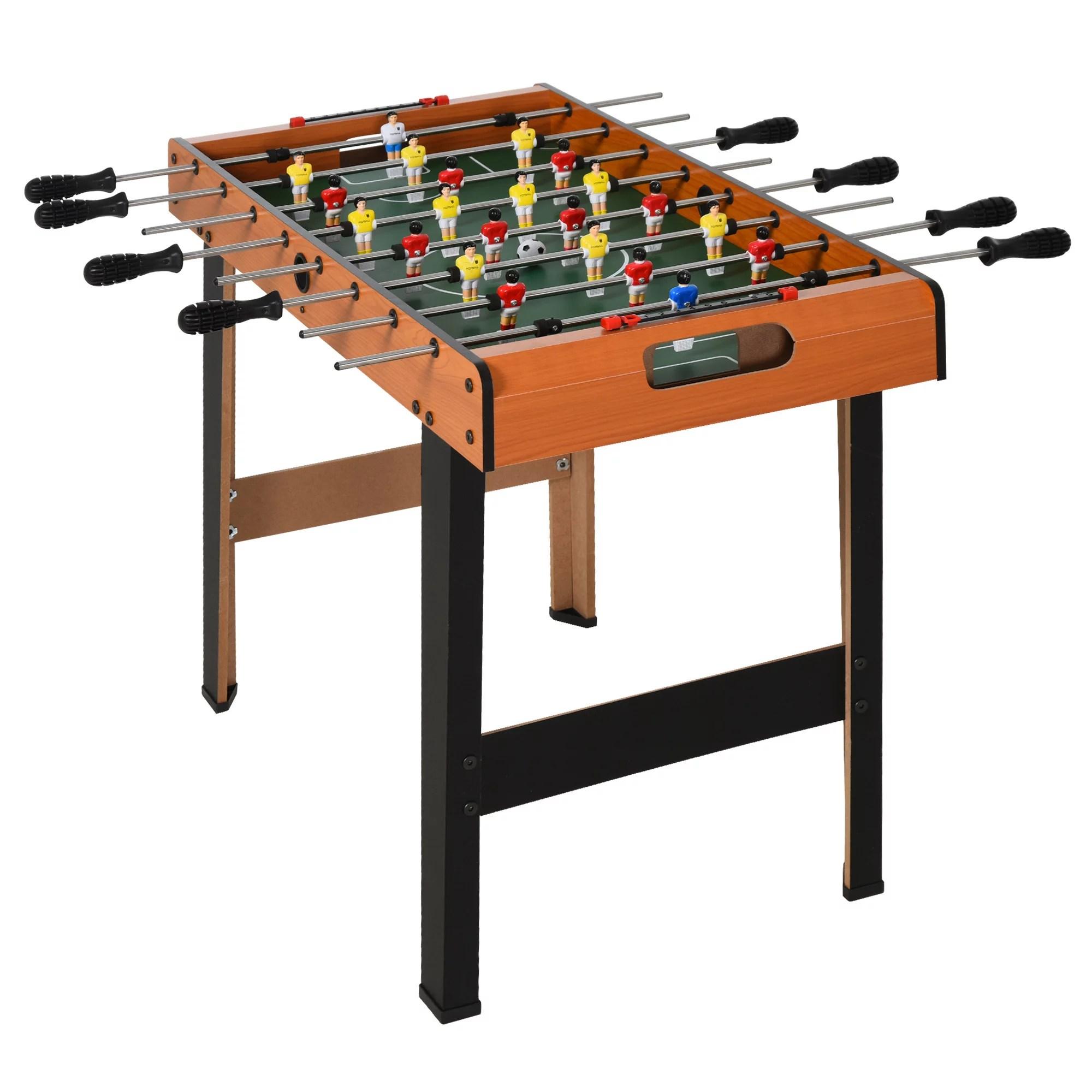 soozier 33 25 foosball table heavy duty for arcades pub game room 8 rods 2 balls