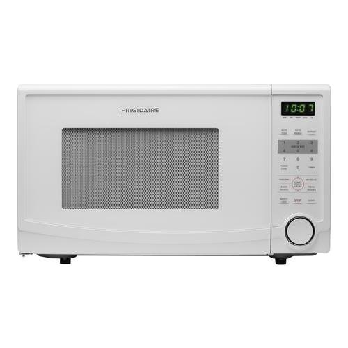 frigidaire 1 1 cu ft 1100w countertop microwave oven white