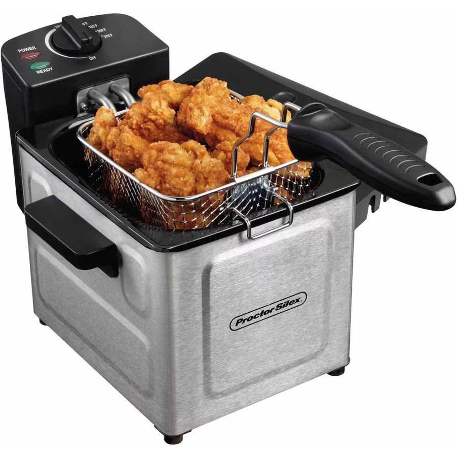 kitchen fryer loud timer hamilton beach 2 liter professional deep model 35200 walmart com