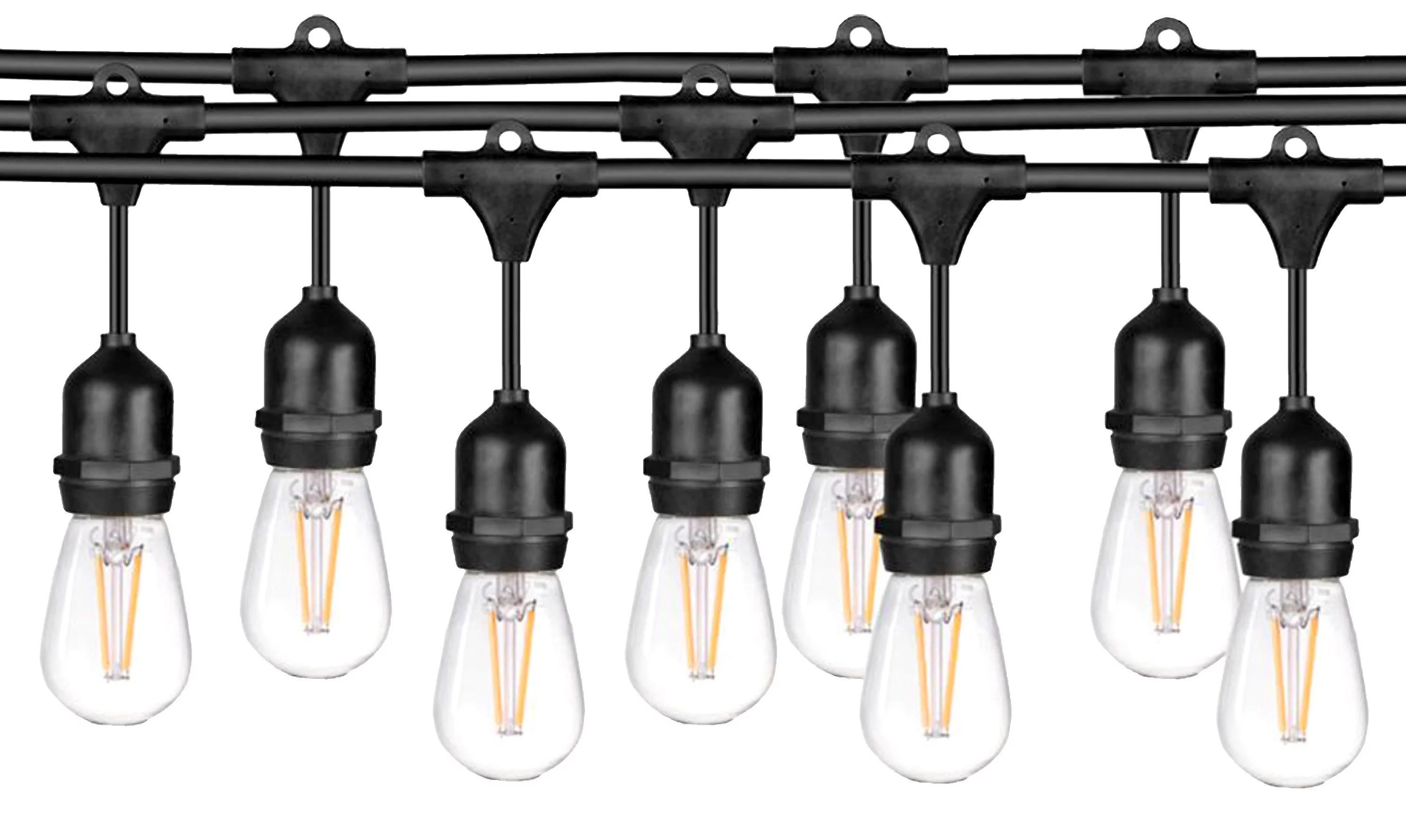 Ledpax 48 Ft Led Outdoor Waterproof String Lights 15