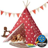 Children's Teepee Tent, Mulitple Colors - Walmart.com