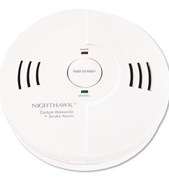 kidde night hawk combination smoke co alarm w voice alarm warning walmart com [ 1500 x 1500 Pixel ]