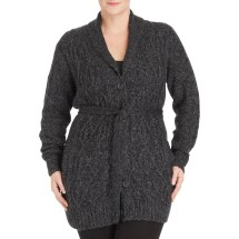 Faded Glory Plus Size Sweater Coat for Women