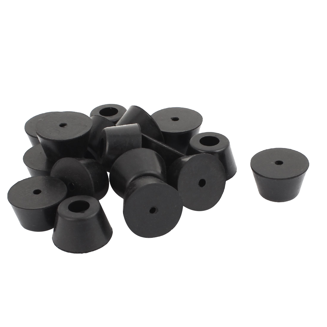 feet for chairs browning camp chair 17pcs 10mm dia hole rubber cover furniture table end leg tips caps walmart com