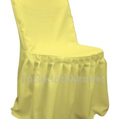 Yellow Chair Covers Amazon Uk Loose Pleated Polyester Wedding Party Decorations Folding This Button Opens A Dialog That Displays Additional Images For Product With The Option To Zoom In Or Out