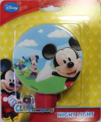 Mickey Mouse Disney ClubHouse Night Lights Kids Room Lamp ...