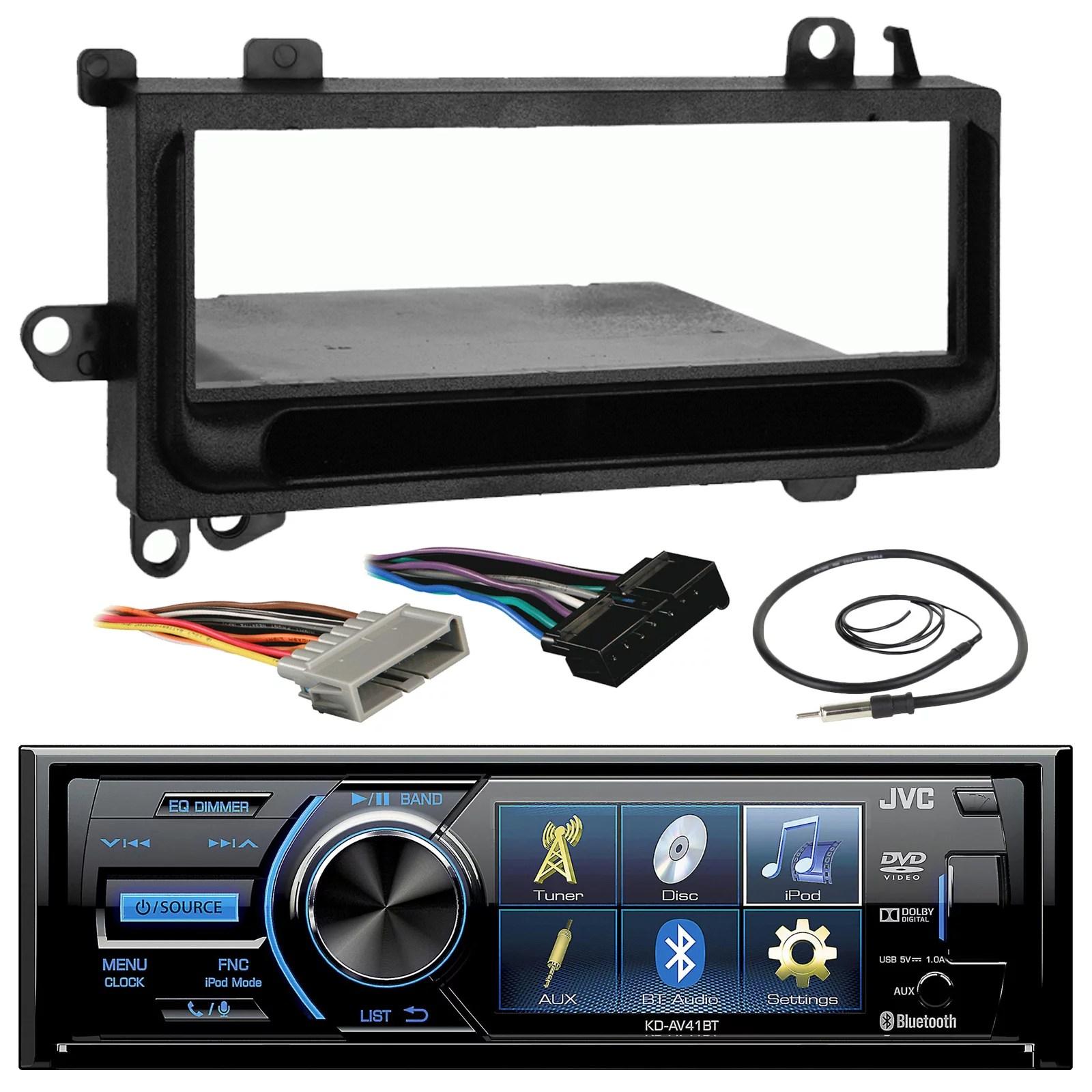 jvc kd av41bt 3 inch bluetooth in dash cd car stereo audio receiverjvc kd av41bt 3 inch bluetooth in dash cd car stereo audio receiver [ 1600 x 1600 Pixel ]