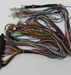 jamma board standard cabinet wiring harness loom for jamma 60 in 1 pcb board 738435028725 walmart com [ 1050 x 892 Pixel ]