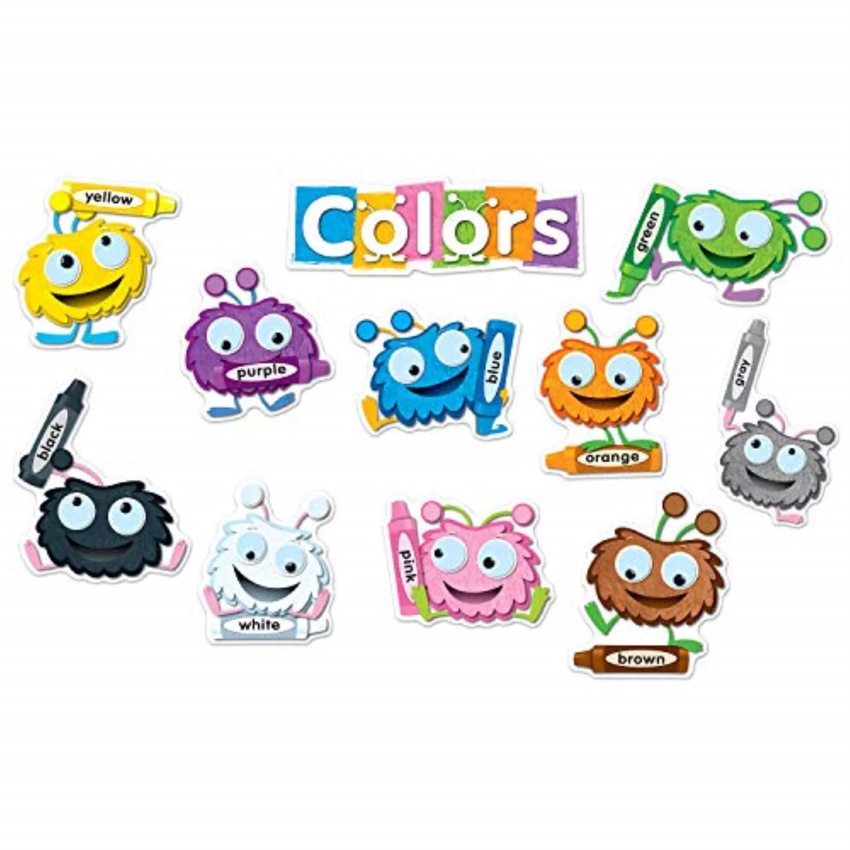 Carson Dellosa Color Critters Bulletin Board Set