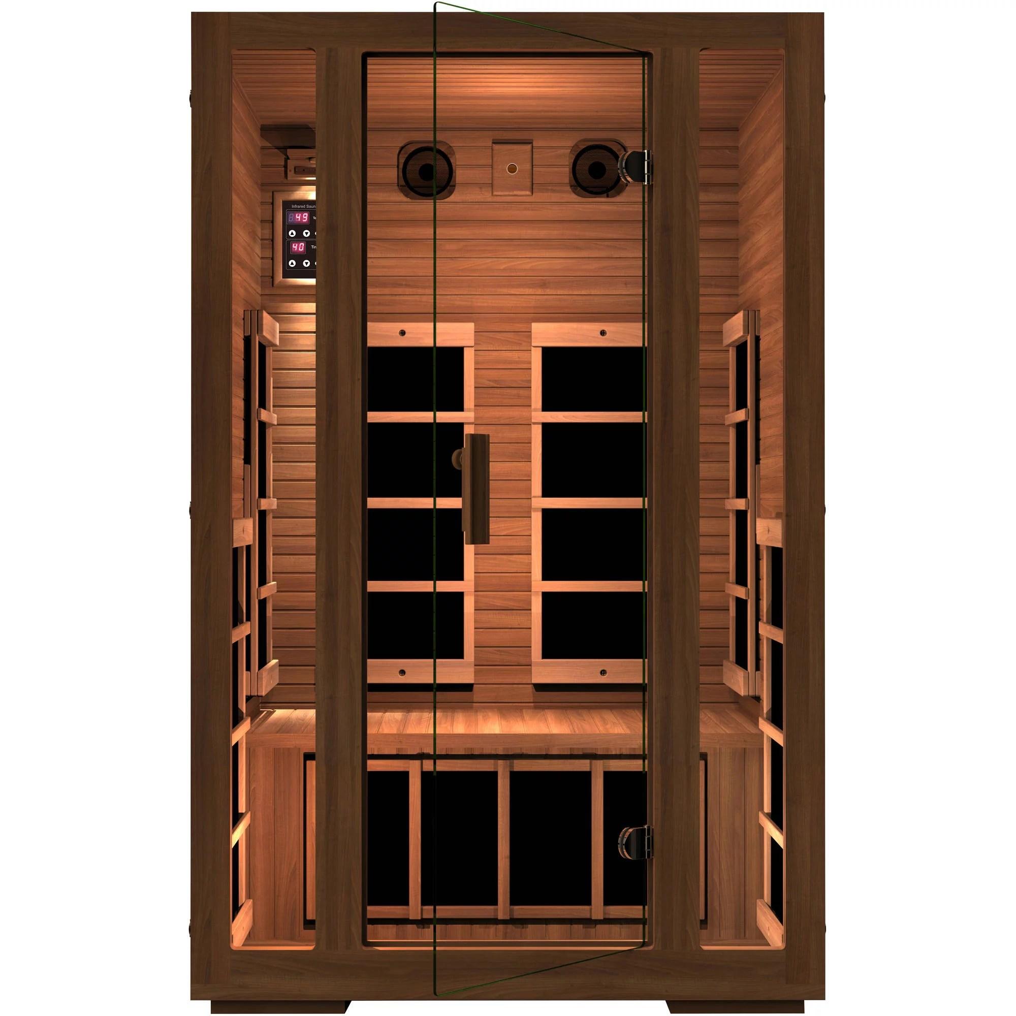 Freedom 2-Person Far Infrared Sauna - Walmart.com ...