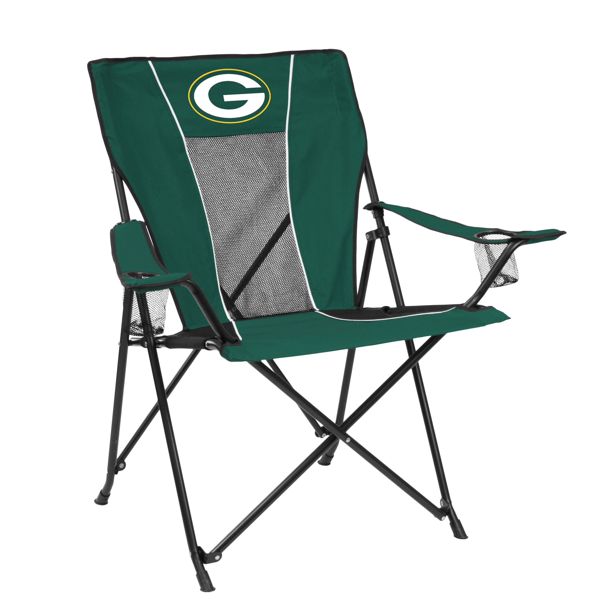green bay packers chair office with neck support game time walmart com