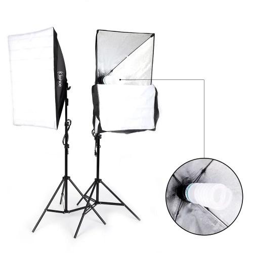 small resolution of ubesgoo 135w photography studio softbox continuous lighting soft box light stand kit walmart com