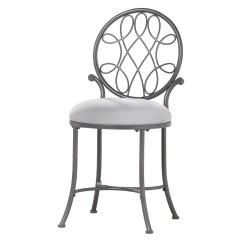 Bathroom Makeup Chair Antique Wooden Desk Vanity Stool Chairs Round Metal