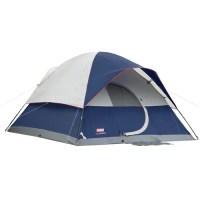 Coleman Elite Sundome 6-Person Tent with LED Light, 12' x ...