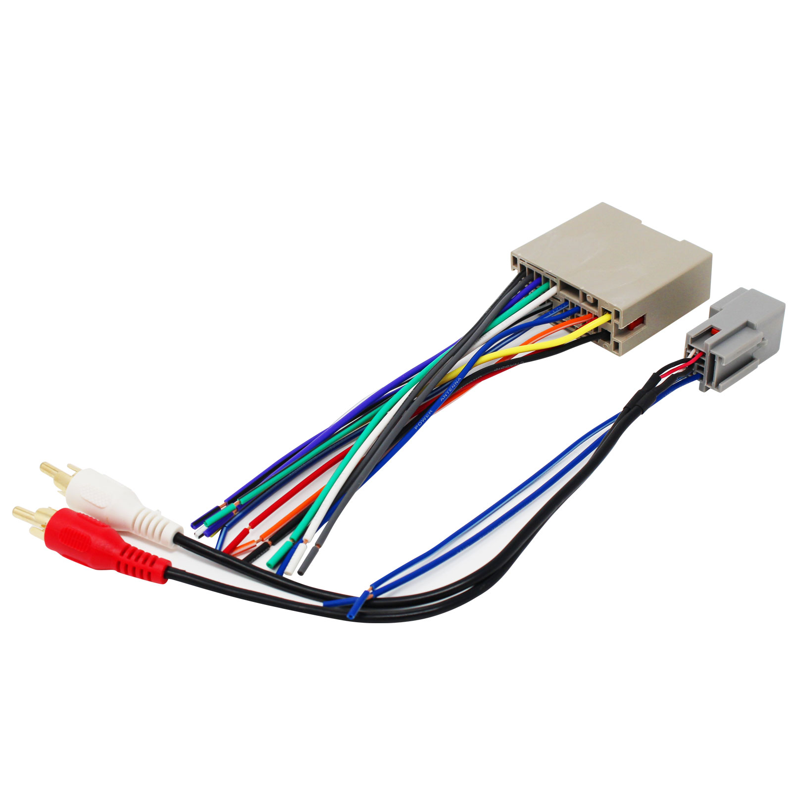 hight resolution of replacement radio wiring harness for 2005 ford escape 2003 fordreplacement radio wiring harness for 2005