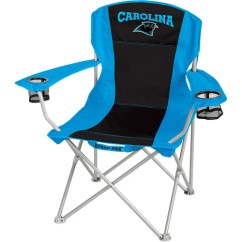 Carolina Panthers Folding Chairs Wooden Sling Beach Nfl Big Boy Chair Walmart Com