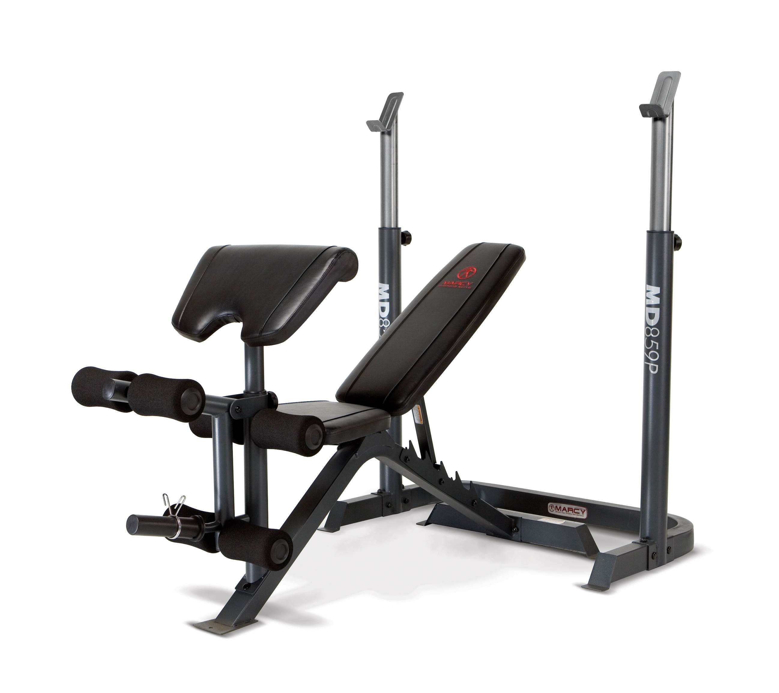 marcy 2 piece olympic bench md 859p